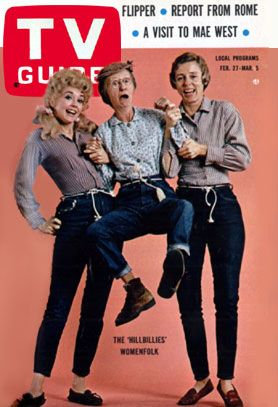 tv guides 1990s covers | Beverly Hillbillies: TV Guide Cover For February 27, 1965 - Sitcoms ...