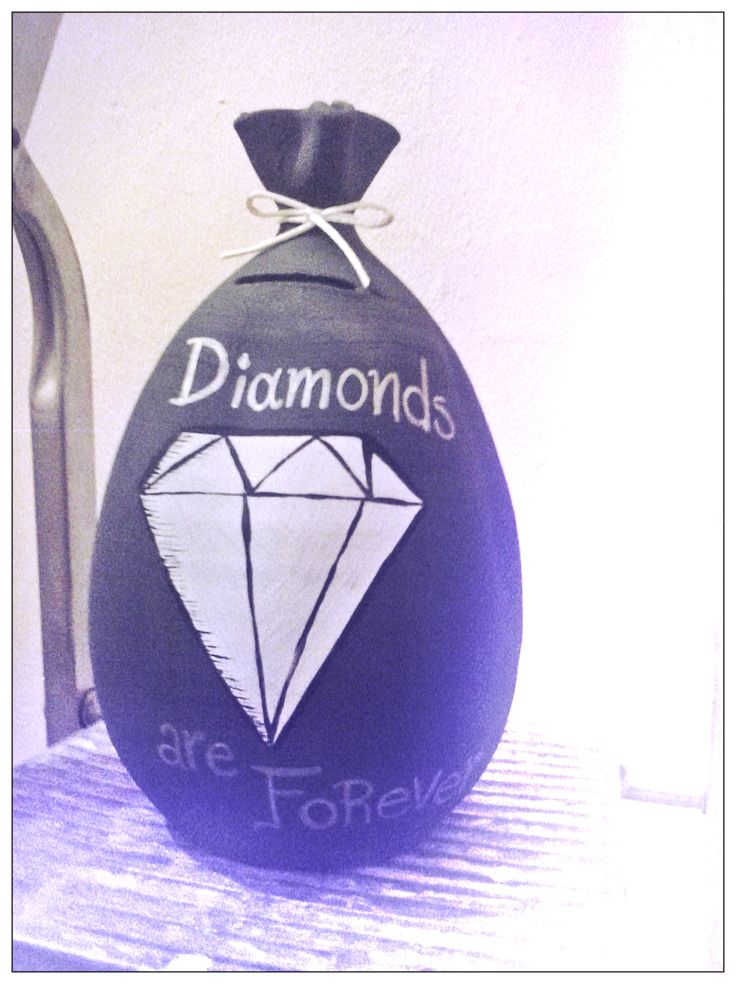 Just because....diamonds are forever! ;)