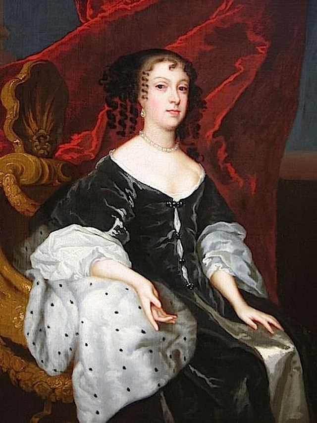 ca. 1670 Catherine of Braganza by Lely studio