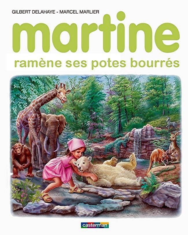 Martine ramène ses potes bourrés j'adore les Martine détournés...:-)