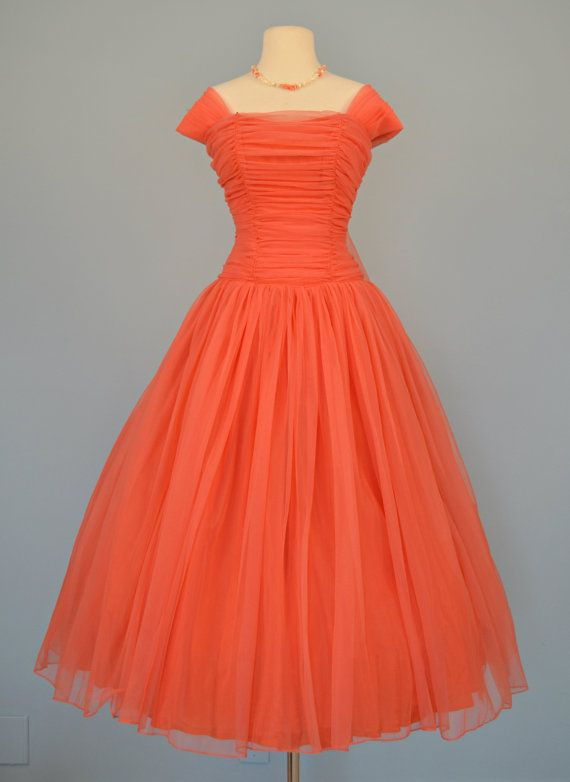 1950s Red Prom Dresses
