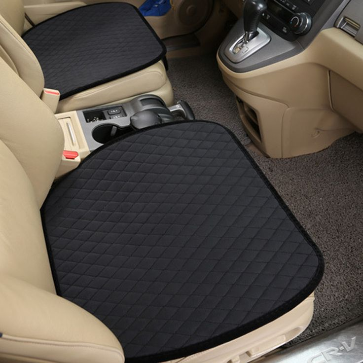 luxury Car Seat Protector Mat Auto Front Seat Cushion Single Fit Most Vehicles Seat Covers Non-slip  Keep Warm car seat cover