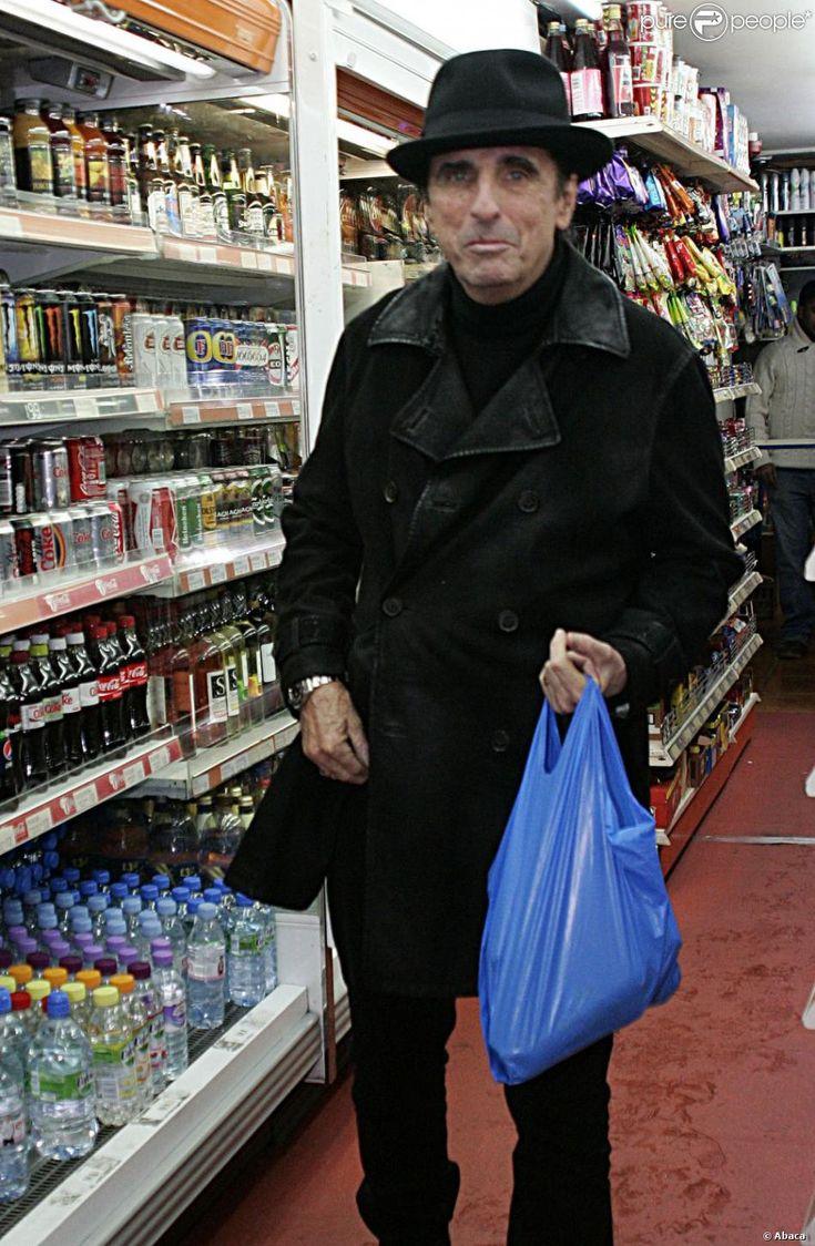 Vincent Damon Furnier alias Alice Cooper à Londres, le 29 octobre 2012.