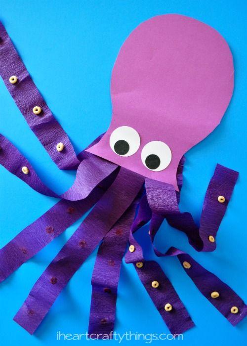 Pulpo octopus manualidad