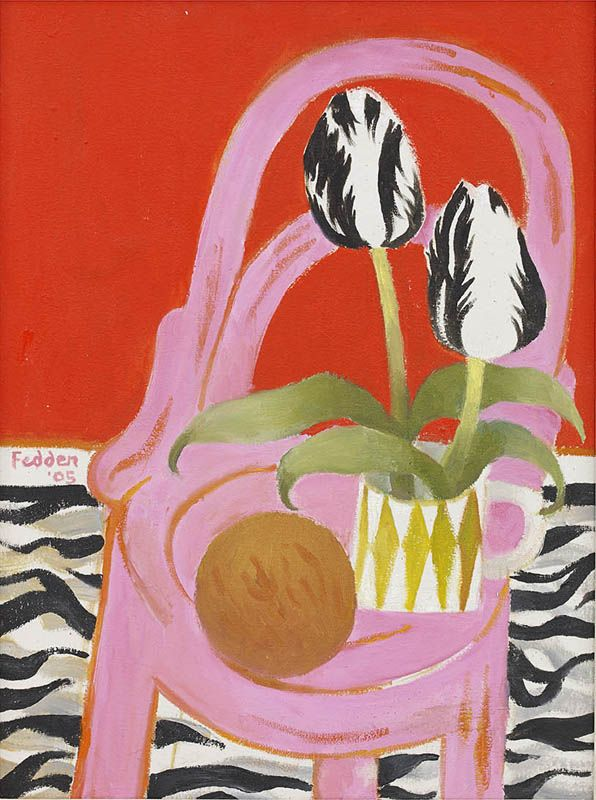 Mary Fedden | Pink and Red