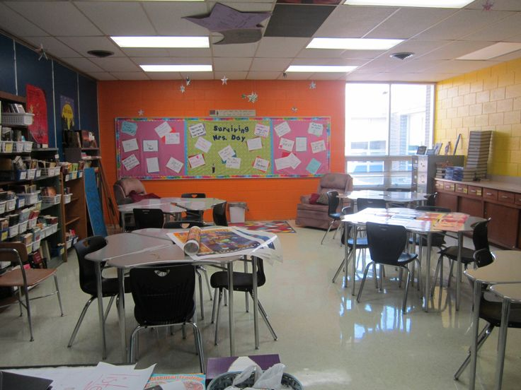 Collaborative Classroom Desks ~ Images about creative spaces in high school on