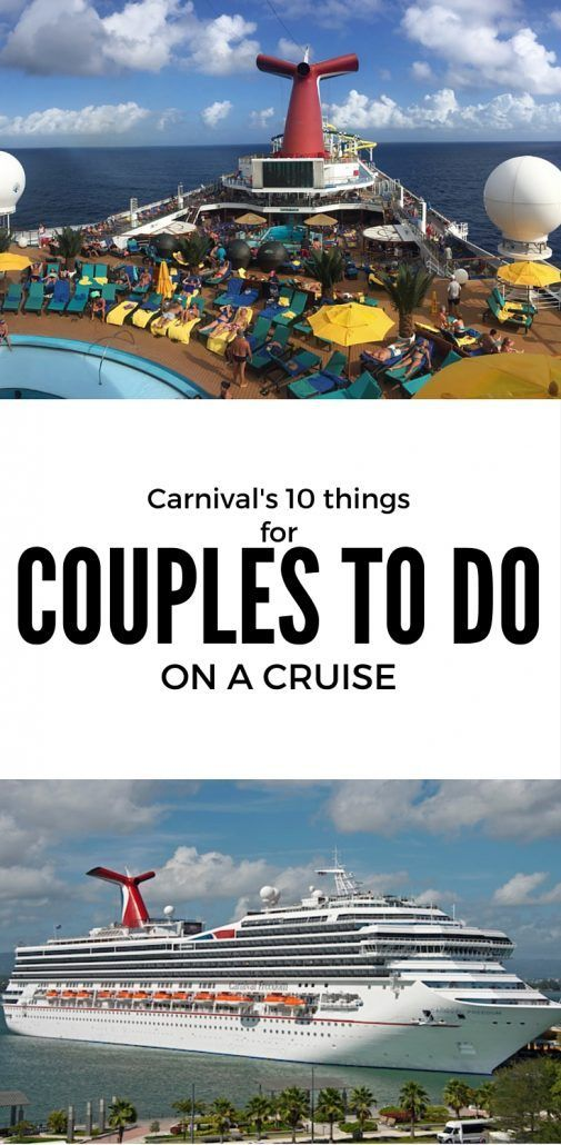 Carnival Cruise Gives Couples '10 Things to Do'