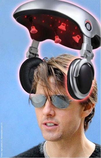 Il mondo di Nat. Tom Cruise: casco laser contro la perdita dei capelli?