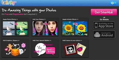 BeFunky, completo editor de fotos online | Windowsfera