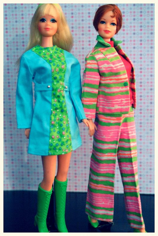 363 best barbie mod era fashions images on pinterest vintage twist n turn stacey and pj sciox Images