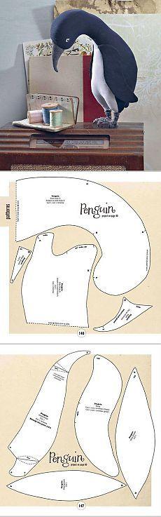 МОДА И Плесень - FELTROMARA: пингвин