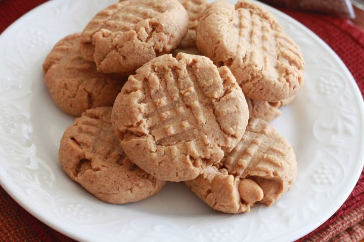 healthy peanut butter cookies recipe whole wheat grains honey flax seeds coconut oil wheat germ oat bran