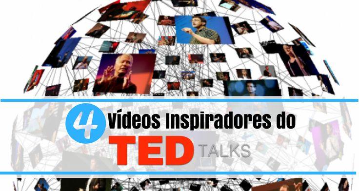 Todos nós precisamos de ser inspirados e relembrados de coisas que alimentam o nosso cérebro de forma positiva! Aqui vais encontrar 4 vídeos inspiradores http://bit.ly/tedtalktribo