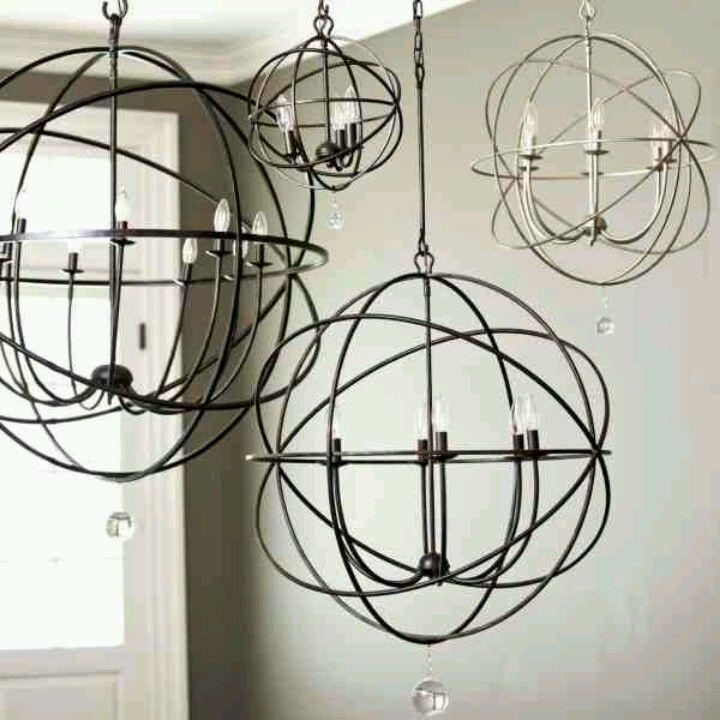 quot orb chandelier quot ballard designs ballard designs