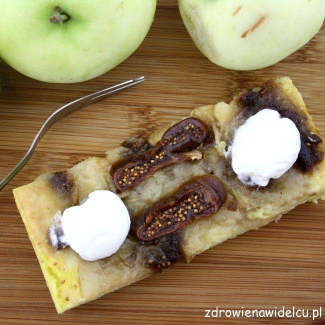 Zapiekana kasza jaglana z jabłkami i figami. Jak ciasto! «