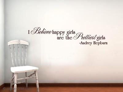 Perfect quote for a little girl's room.