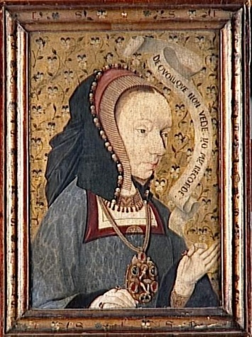 Unknown, Spanish () The Pensive Woman Date: c. 1475-1500