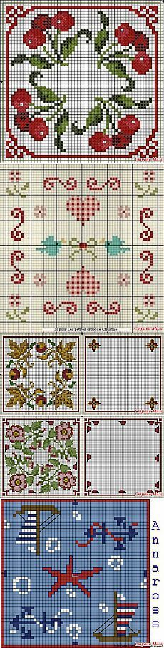 Embroidery Scheme, Ещё Схемы,