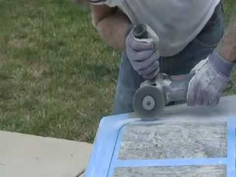 How to Cut & Polish Granite Countertop DIY - Undermount Sink