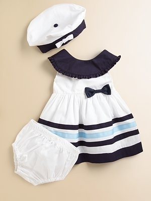 Hartstrings Sailor Dress, Bloomers, and Hat - so cute!