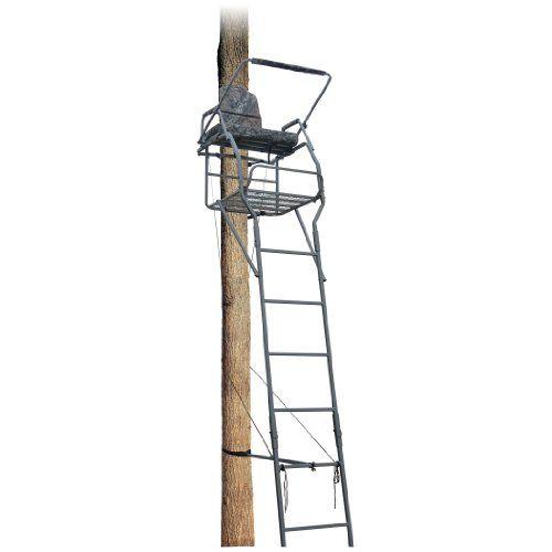 Best 25 ladder tree stands ideas on pinterest cat for Deer stand steps