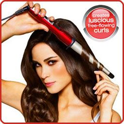 New Year, New 'do -  Conair's Curling Wand; turns air dried hair into a beachy loose waves/curls. Takes 15 minutes, costs only $25!