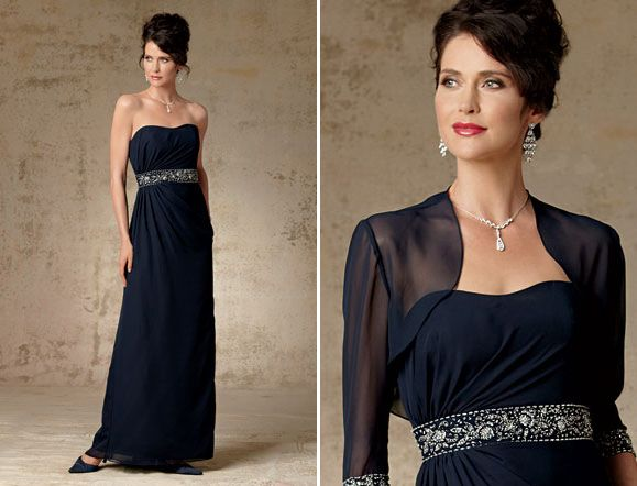 Caterina Mother of the Bride Chic Chiffon Gown