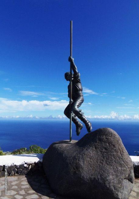 """""""Mirador del Salto del Enamorado"""", en la isla de La Palma"""