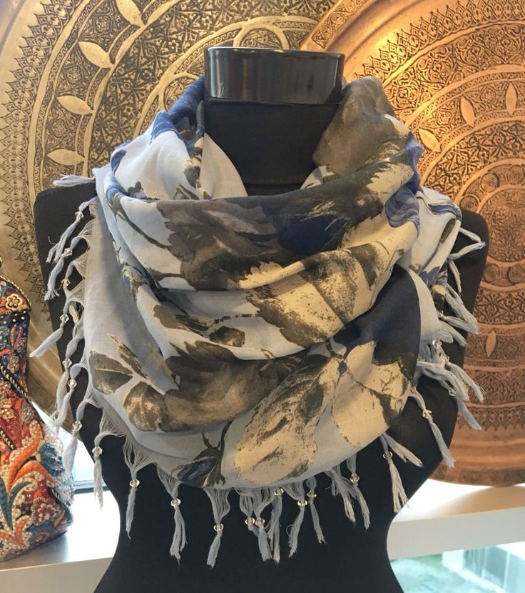 FLORAL TURKISH SCARF, 00016