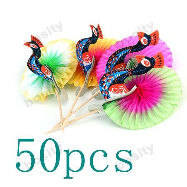 100 Peacock party picks $6.65 ebay.  These are sooo cute!