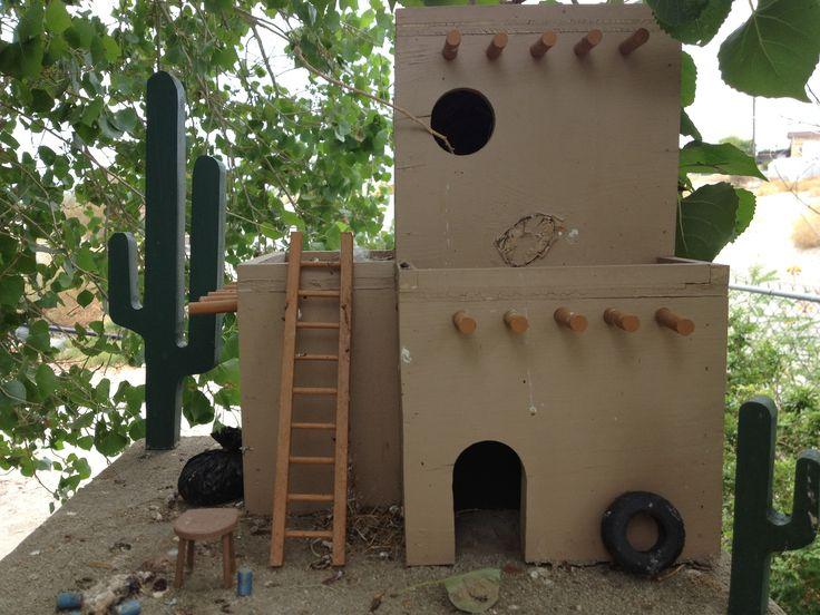 Adobe Mexican Bird House