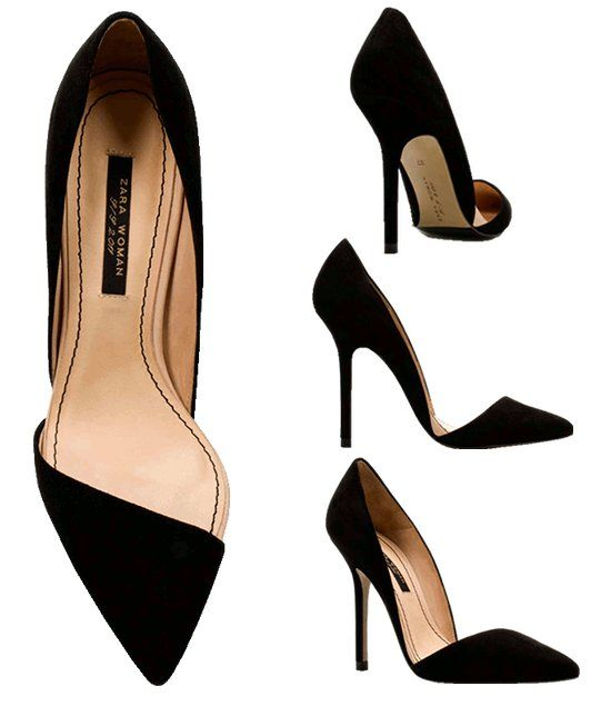 Zara black pump