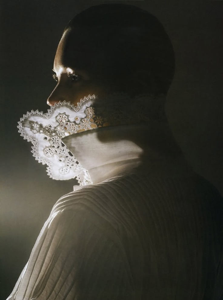 white shirtPhoto by Mario Sorrenti