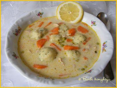 Barbi konyhája: Tárkonyos raguleves krumpligombóccal