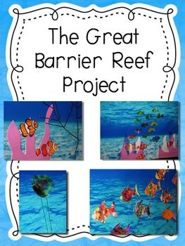 Create a floor to ceiling Great Barrier Reef in your hallway! Your students will LOVE this project!