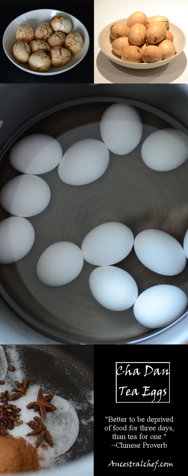 Paleo Tea Eggs (Cha Dan).... I want to try these! I bet they're super delicious!