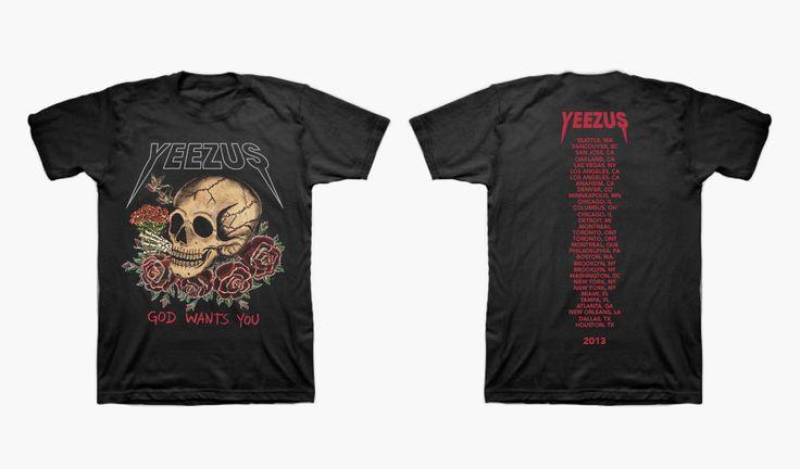 Joe Perez - Yeezus Tour T-Shirt