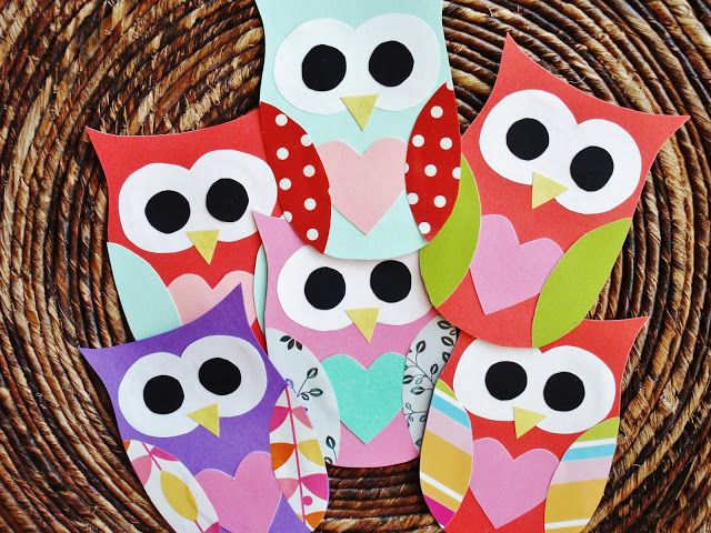 A Creative Cookie: Owl Valentines free template