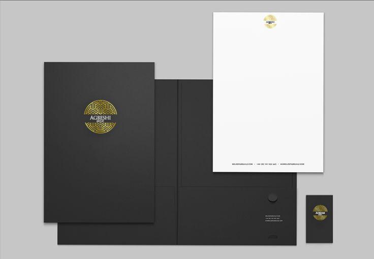 Diseño de marca y papelería