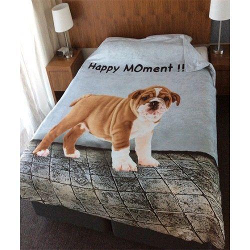 3D Animal Print Quilt Duvet Cover with Pillow Case Bedding Set Single Double Pug #Dreams #ModernPhotoPrintDuvetCoverPillowCase