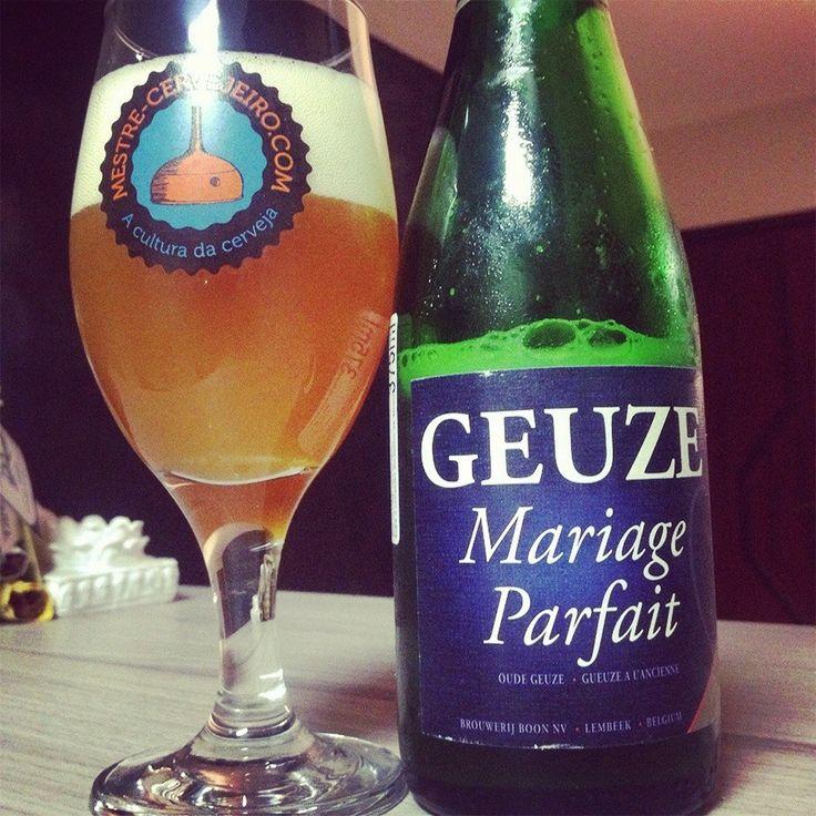Boon Oude Geuze Mariage Parfait (8% / Geuze Lambic / Lembeek - Bélgica) #cerveja #beer