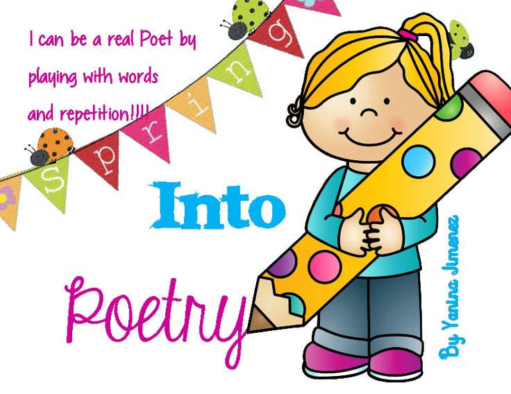 Poetry has never been easier for your little ones! Students can actually play with words and repetition ...