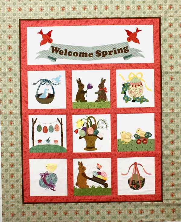Free Quilting Patterns For Spring : 17 Best images about SPRING QUILT IDEAS on Pinterest Raising, Spring and Shabby