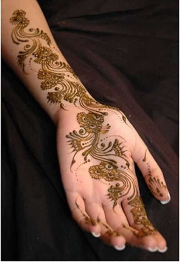 Simple and Colourful Henna And Mehndi Designs