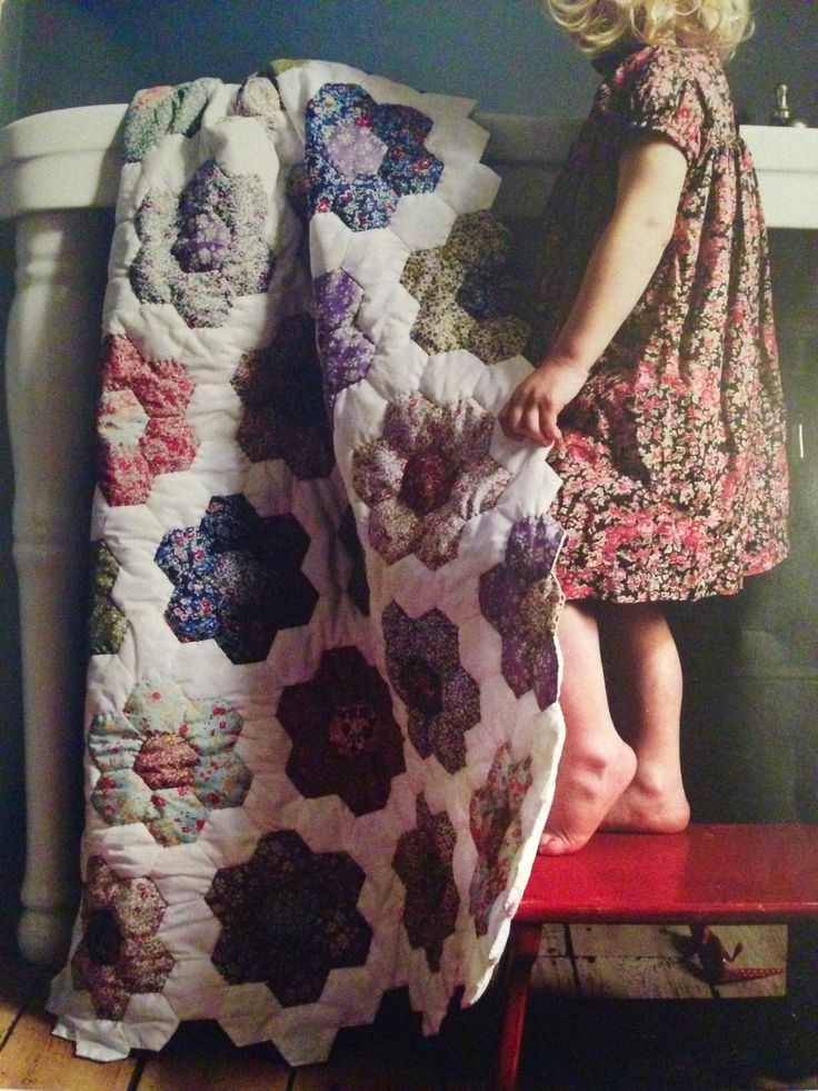 Liberty Book of Home Sewing - Liberty fabrics - Traditional Crib Quilt