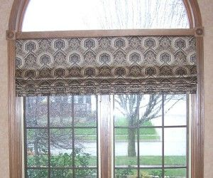 25 Terrific Roman Shades Arched Windows Picture Design