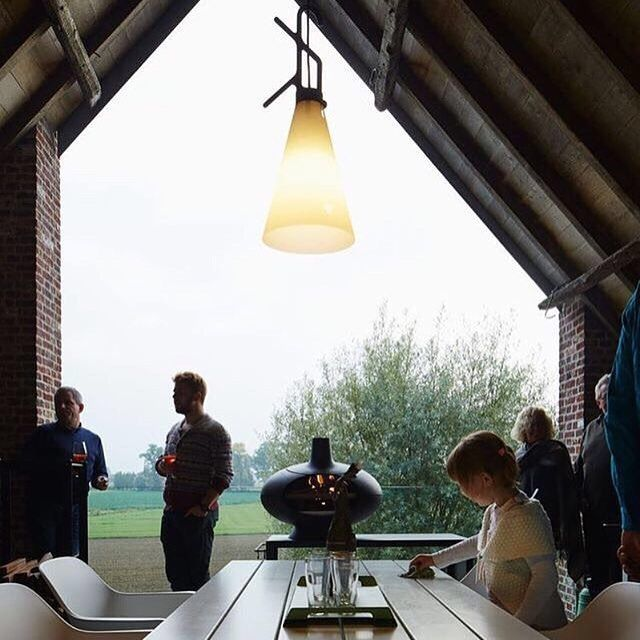 Konstantin Grcic' May Day lamp for FLOS as captured on Instagram by user @vilanovapena