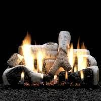 """Empire 18"""" Birch Ceramic Fiber Log Set"""