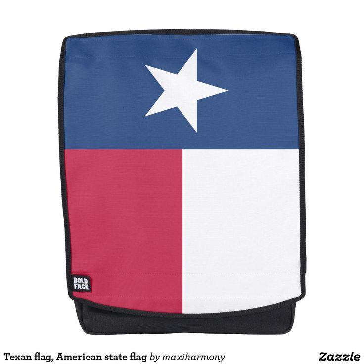 Texan flag, American state flag Backpack