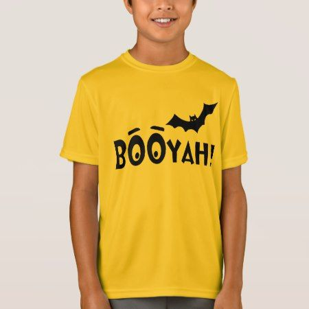 BOOYAH! Batty Halloween T-Shirt - tap to personalize and get yours